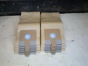 10x Vacuum Cleaner Dust/Dirt Bags RL095 & RL111 15L, 20L Ash Debris Collector