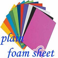 EVA Foam Sheets A4 PLAIN   Fun Kids Craft DIY  10PCS