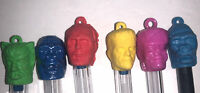 Monster Pencil Topper Gumball Charms 60s-Frankenstein Wolfman-King Kong-Phantom-