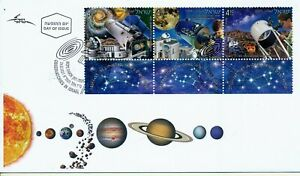 ISRAEL 2021 SPACE OBSERVATORIES STAMPS FDC