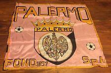 Bandiera Calcio PALERMO Anni 70/80 65x65 COLLEZIONE