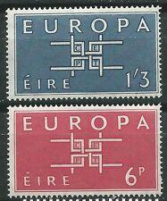 IRLANDA EUROPA cept 1963 Sin Fijasellos MNH