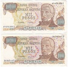 Argentina 1000 Pesos Bank Notes***Collectors***
