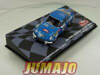 RMIT40F 1/43 IXO Rallye Monte Carlo 1973 : ALPINE Renault A110 1800 Andruet #18
