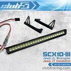 Multi-Mode LED Light Bar for Axial SCX10 III JL Wrangler / JT Gladiator