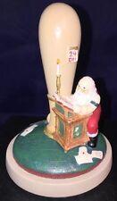 Vtg Santa Christmas Brown Bag Mold Press Cookie Art Cutter Clay Folk Stamp #44