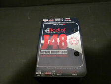 Radial Engineering J48 Active DI Phantom-Powered Guitar/Bass/Synth Direct Box