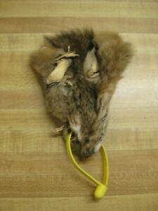 Tanned Bobcat Face DAMAGED #3 Quality Fur