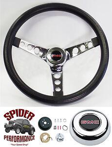 "1988-1994 GMC pickup Jimmy Suburban steering wheel 13 1/2"" CLASSIC CHROME"