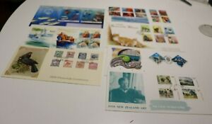 1998 NEW ZEALAND NZ FDC COVERS x 7 GREETINGS,CATS,UNDERWATER,PICTORIALS,HEALTH