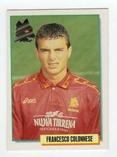 figurina CARD MERLIN CALCIO 95 NUMERO 284 ROMA COLONNESE