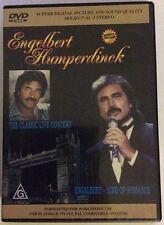 ENGELBERT HUMPERDINCK: KING OF ROMANCE + THE CLASSIC LIVE CONCERT– DVD, REGION 0