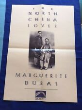 THE NORTH CHINA LOVER: PROMOTIONAL POSTER - BY MARGUERITE DURAS