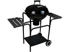 Gartengrill  Holzkohle-Grill rund Standgrill mit DeckelCamping Party Outdoor 80