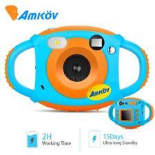 Kids AMKOV 1080p FHD Mini 5mp Digital Camera for Children Birthday Gift Toy Xmas