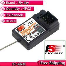 4Pcs Flysky FS-GR3E Receiver for FS-GT2 FS-GT2B FS-GT3B FS-GT3C FZ-IT4S RC Car