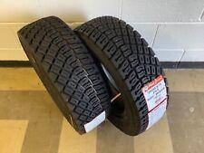 2 x MRF 205/65-15 205 65 15 ZG2 gravel rally rallycross tyres pair