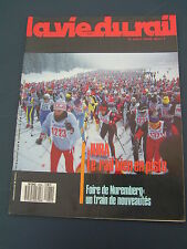 vie du rail 1987 2084 ANDELOT MOREZ BOUJAILLES LES LONGEVILLES ROCHEJEAN GILLEY