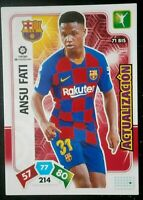 ANSU FATI ( FCB) ROOKIE  ADRENALYN XL 2020 . PANINI