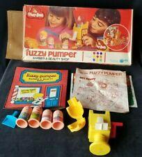 VINTAGE 1977 PLAY DOH SET FUZZY PUMPER BARBER & BEAUTY SHOP KENNER Near Compl