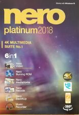 NERO PLATINUM 2018 4k Multimedia Suite