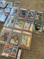 20 Card VINTAGE BASEBALL CARD LOT! ROOKIES, PSA BGS GRADED 1920s-1990s MAYS 👀