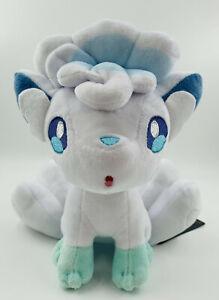"8"" Alolan Vulpix Plush Soft Teddy Bear Stuffed Toy Kids Alola Sun Moon UK"