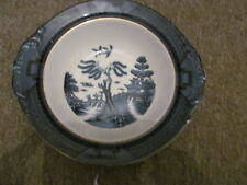 Vintage Willow Pattern Serving Dish - 9 Inches - Nikko Double Phoenix