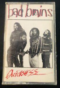 Bad Brains Quickness Caroline Records 1989 Cassette