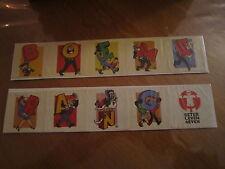 Nero/Neron - Marc Sleen - Boemerang stickers - 10 verschillende = 1 geheel  B