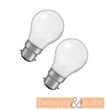 25w BC B22 GLS Pearl 25v Specialist Low Voltage Light Bulb | Pack of 2