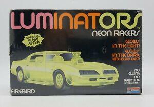 Monogram Luminators Pontiac Firebird Neon Racers Model Kit 1990 New Sealed #1606