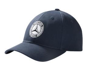 Mercedes-Benz Baseball Cap Navy With Classic Logo Cotton B66041540 Genuine New