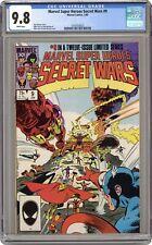 Marvel Super Heroes Secret Wars #9 CGC 9.8 1985 1618353027