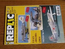 $$$ Revue Replic N°87 P-39 Q/N AiracobraLoire 46Yakovlev Yak 1b