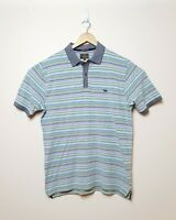 Rodd & Gunn Mens Size L Pastel Colored Striped Short Sleeve Polo Shirt