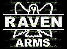 Raven Arms - Outdoor/Hunting Sports - Vinyl Die-Cut Peel N' Stick Decal/Sticker