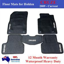 Heavy Duty Rubber Car Floor Mats Black for Holden Cruze 2009 - 19 Current JG JH