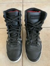 Hardlined BY SEAN JOHN Black/Red Fashion Sneaker Size 7.5 US PRE OWNED
