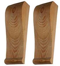 bois en pin massif Long Zen Plain cutshape Corniche #386 MATCHED PAIR