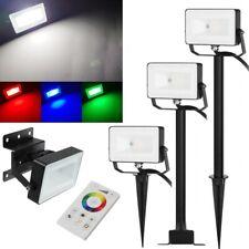 LED Foco RGB + Blanco 230V 10W EEK : A+ Fluchtlicht-Strahler Exterior