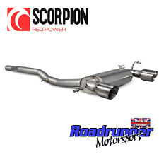 Scorpion Audi TT MK1 3.2 Q V6 de acero inoxidable gato sistema de escape atrás no resolución 2003