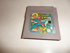 Nintendo  Game Boy   Spider-Man X-Men