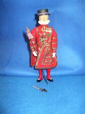 "Costume Doll  Peggy Nisbet B330 Yeoman Warder Beefeater England 8 1/4 ""  #ks16"