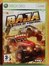 Baja Edge of Control - Xbox 360 - Pal España - Completo