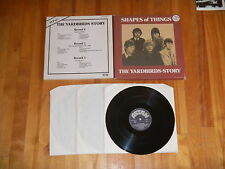 The Yardbirds Beck Clapton Page Shape of Things Story 3 LP Import Box Set Ex+