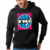 Save the Rave Techno Electronic House Club Music Kapuzenpullover Hoodie Sweater
