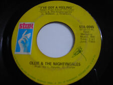 Ollie & the Nightingales I've Got a Feeling 1969 45rpm