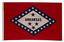 5x8 ft ARKANSAS The Natural State OFFICIAL STATE FLAG Outdoor Nylon Made in USA