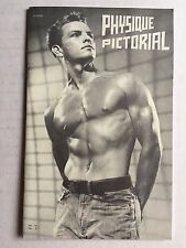 October 1964  Physique Pictorial Gay Men's Magazine w/ Gary Conway on Cover